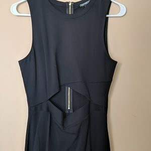Express Dresses - Jersey cut out mid dress